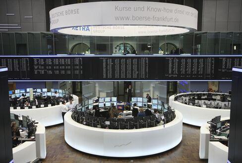 European Stocks, U.S. Index Futures Gain