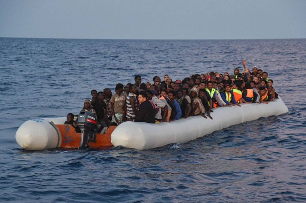 An Eu Rubber Boat Ban Won T Stop Migrants Bloomberg