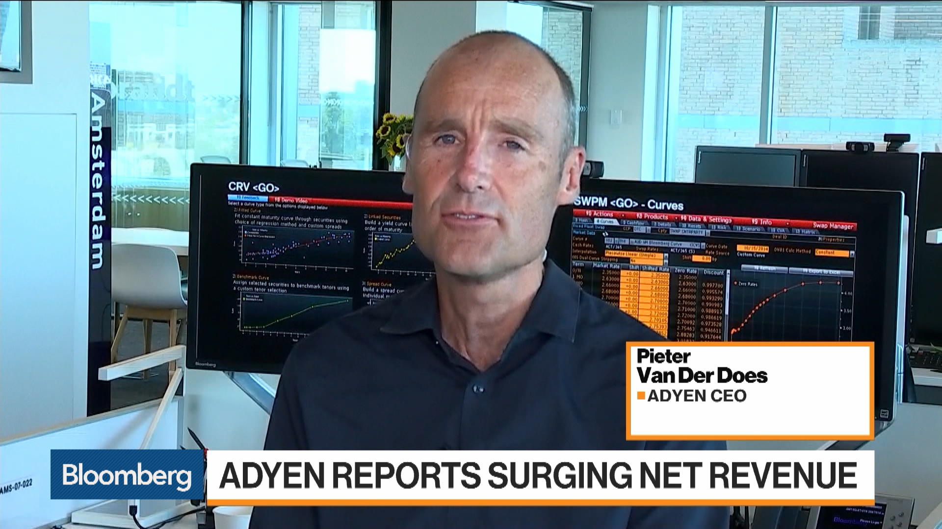 Adyen CEO on 1H Earnings, eBay, Payments Competition