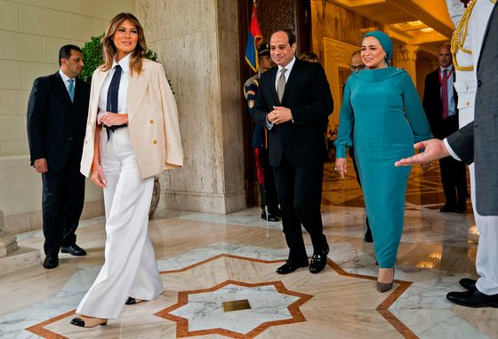 Melania Trump Won't Say Whether She Believes Ford Allegation