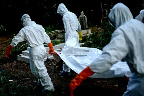 Ebola Cases May Surpass 20,000