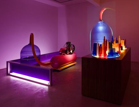 """Mike Kelley, """"Kandor 4,"""" 2007, © Mike Kelley Foundation for the Arts. All Rights Reserved/Licensed by VAGA, New York NY"""