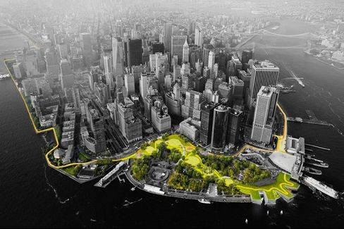 Designing a Manhattan Superstorm Barrier That Fits Into the Neighborhood