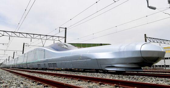 World's Fastest Bullet Train Starts High-Speed Tests