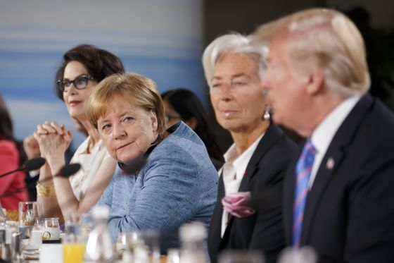 Merkel Allies Call for Unity After Trump's G-7 `Affront'