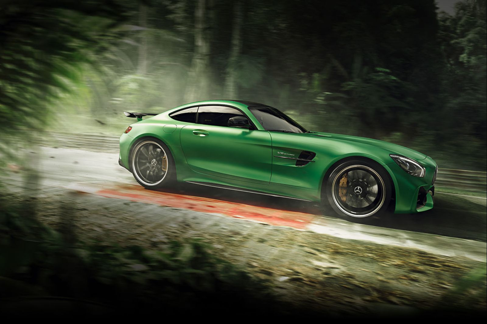 Coupe: Mercedes-Benz AMG GTR
