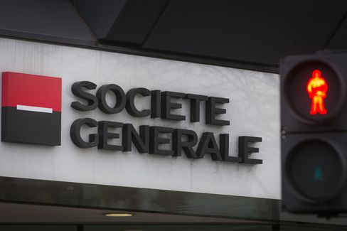 Societe Generale SA's Offices Stand in London