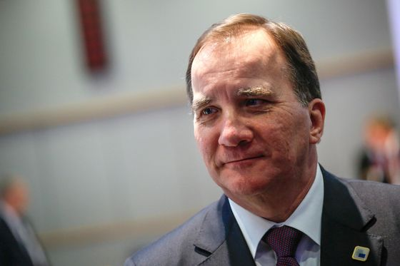 Sweden'sLofven Hails 'New Phase' as Real Government Talks Start