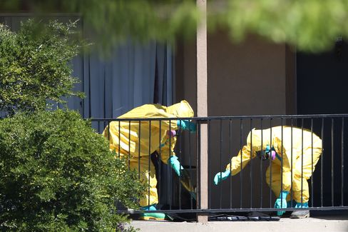 A Hazmat Team in Dallas