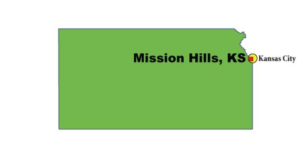 Most Expensive Suburb in Kansas: Mission Hills