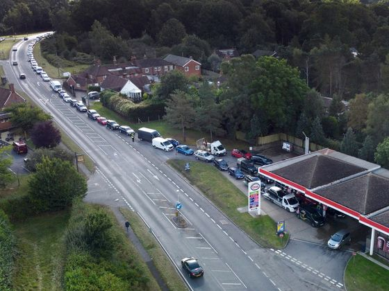 U.K. Oil Firms Say Fuel Crisis Easing as Government Steps In