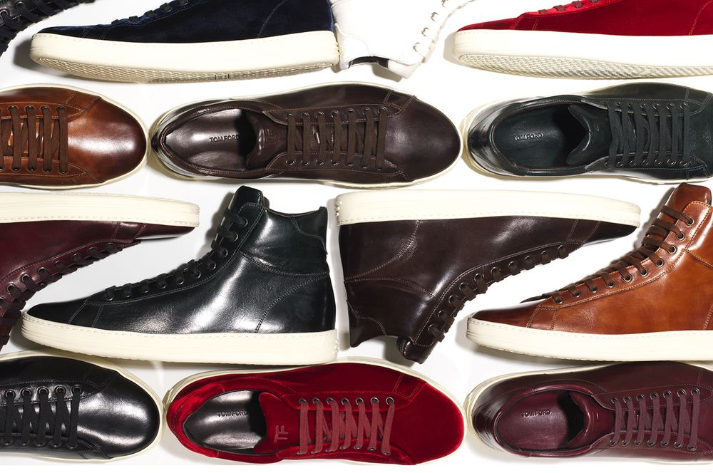 new products ce82c e36e5 Selections from Tom Fords first sneaker collection, Fall 2014.  Photographer Ted Morrison