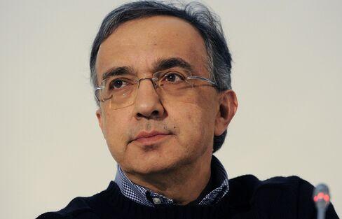 Fiat SpA Chairman Sergio Marchionne