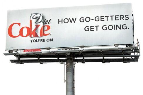Diet Coke Is High on Its New Slogan
