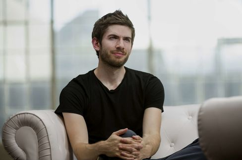Tumblr co-founder David Karp.