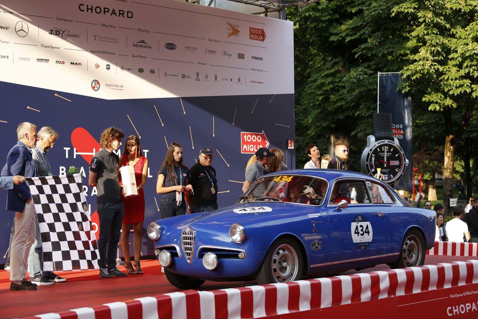 <p> <strong> <span> 1956 Alfa Romeo Giulietta Sprint Veloce Alleggerita </ span> </ strong> </ p>