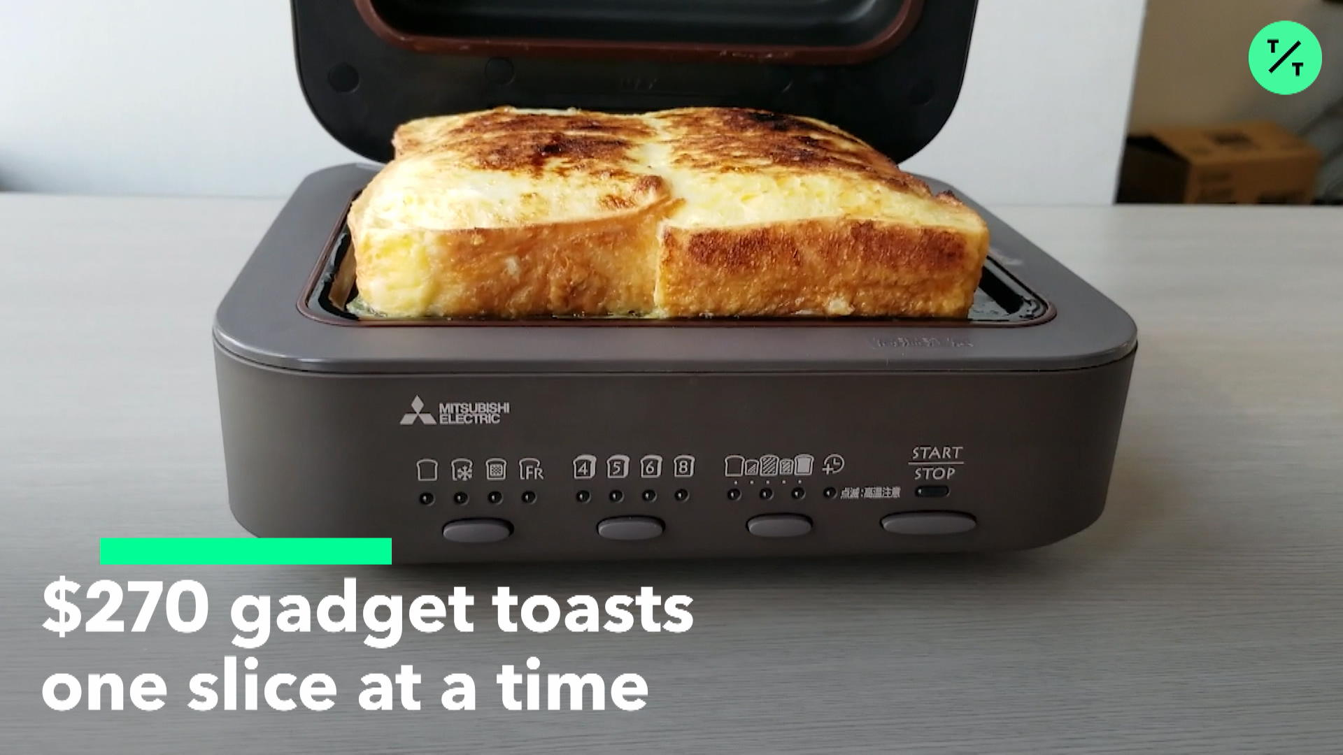 This Japanese Toaster Costs 270 It Only Makes One Slice At A Time Bloomberg