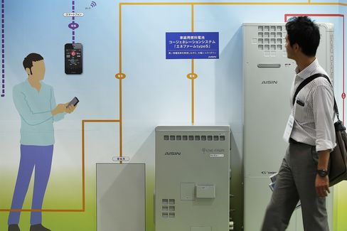 Household Fuel Cell Cogeneration System