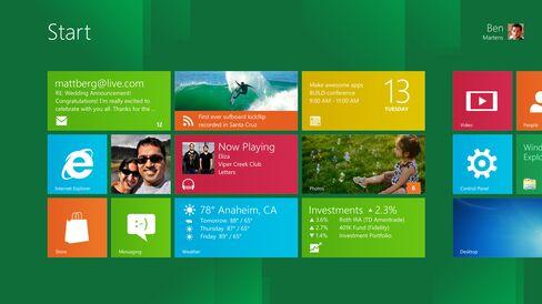 Microsoft Windows 8 Seen Tapping $58 Billion App Market