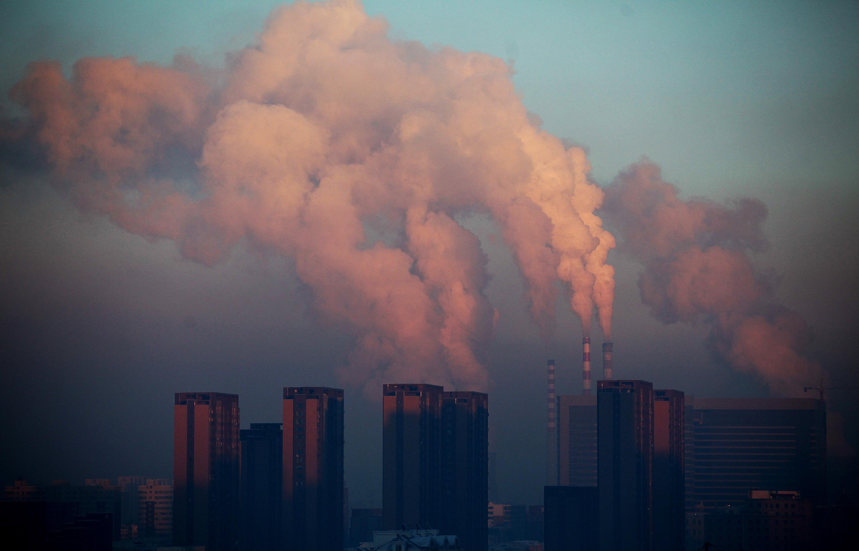 CHINA-ENVIRONMENT-THEME-POLLUTION