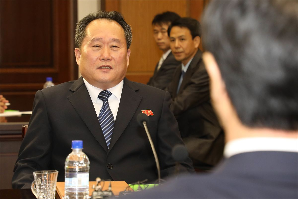 North Korea Picks Army Man Who Led Korean Talks as Top Envoy
