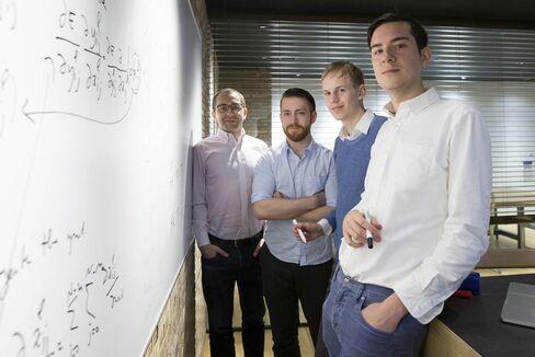 From left, David Malkin, Joseph Bullard, Philip Irri and Philippe Remy.