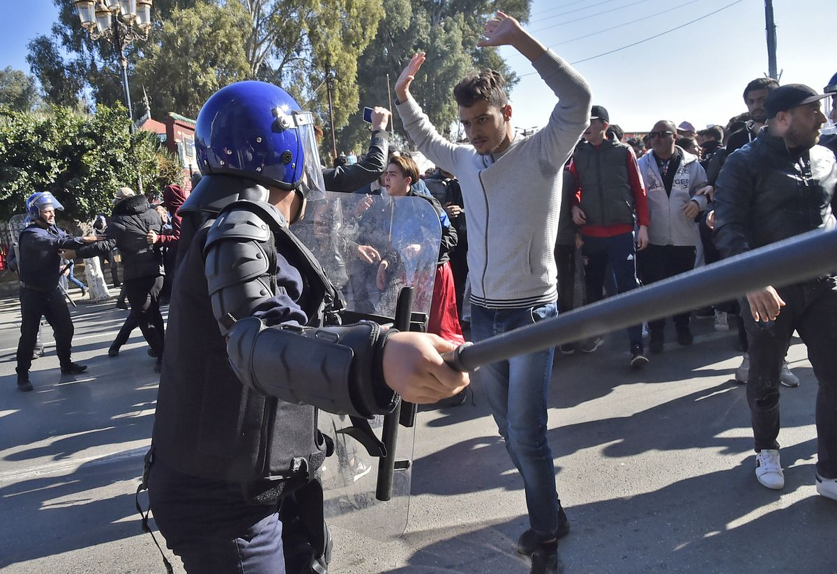 Protests Held Across Algeria Against Fifth Term for President