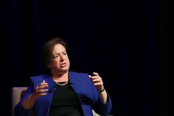 Kagan Says Loss of Centrist Could Harm Perception of Supreme Court