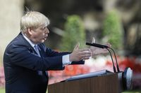 U.K.'s New PM Boris Johnson Takes Up Office