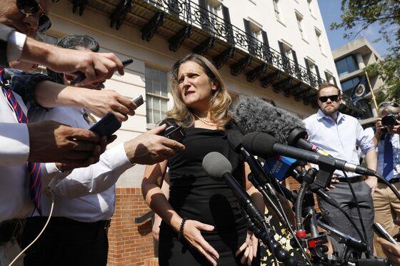 Canada Downplays Nafta Deadline With Talks to Continue Thursday