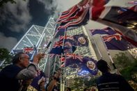 """Demonstrators Attend """"Stand with Hong Kong, Power To The People"""" Rally As City Braces for Yet Another Weekend of Unrest"""