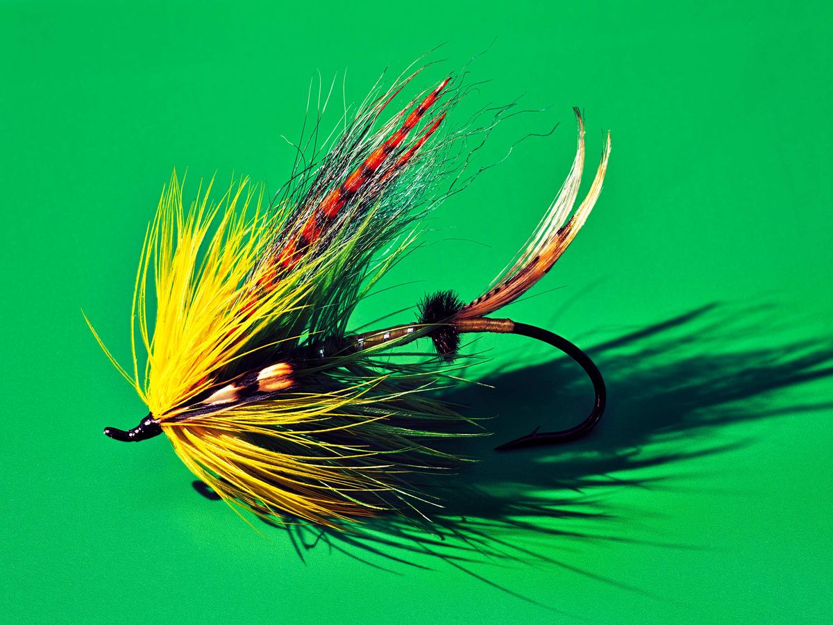 The Art of Tying Fishing Flies Can Get Very, Very Complicated