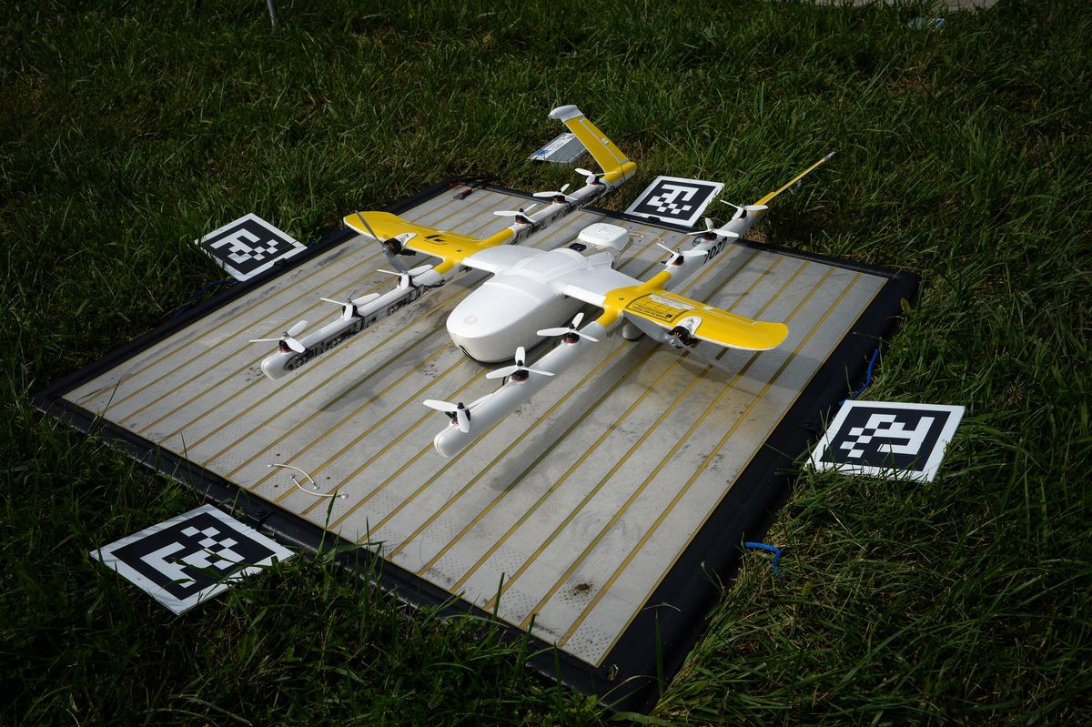 Aspirin-by-Drone Closer in Alphabet-Walgreens Delivery Test