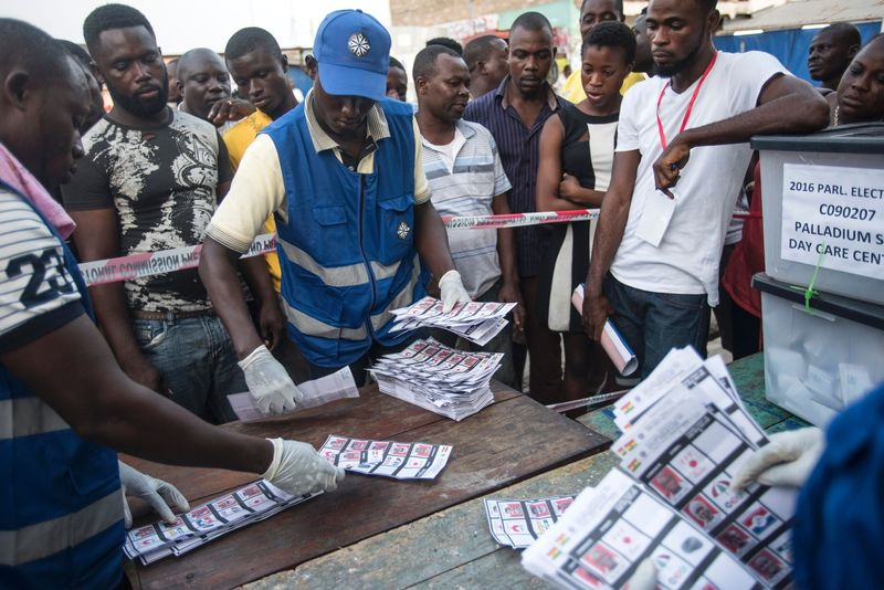 GHANA-POLITICS-VOTE
