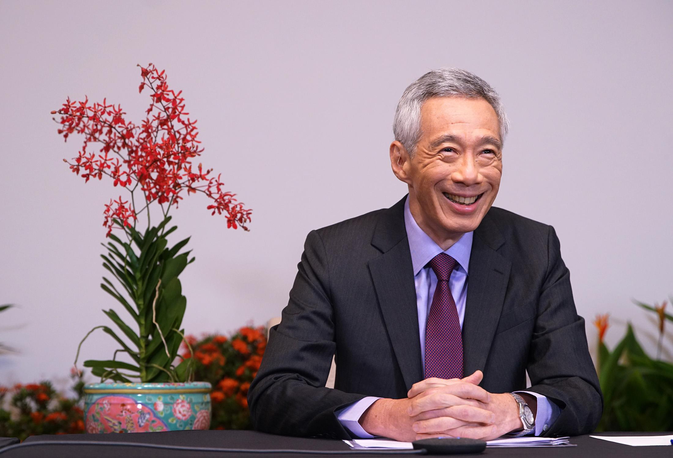 シンガポール首相、米中「休戦」をバイデン次期政権に呼び掛け