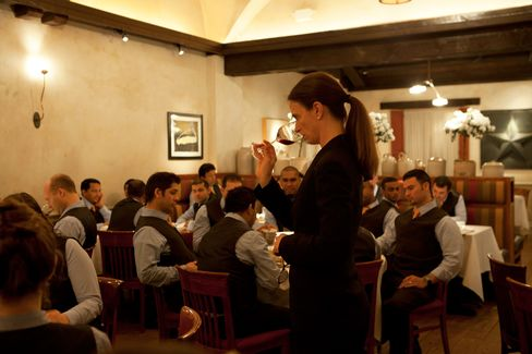 """Juliette Pope (beverage director, Gramercy Tavern, New York) on guest reactions: """"Women diners have always loved women sommeliers. Men were a little less sure. Now so much of guests' reactions are tied to the approach and personality of the person, much more than to gender."""""""