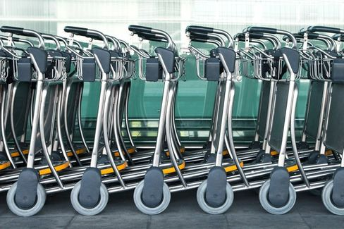 Rome Airport Says Phantom Luggage Carts Will Reappear