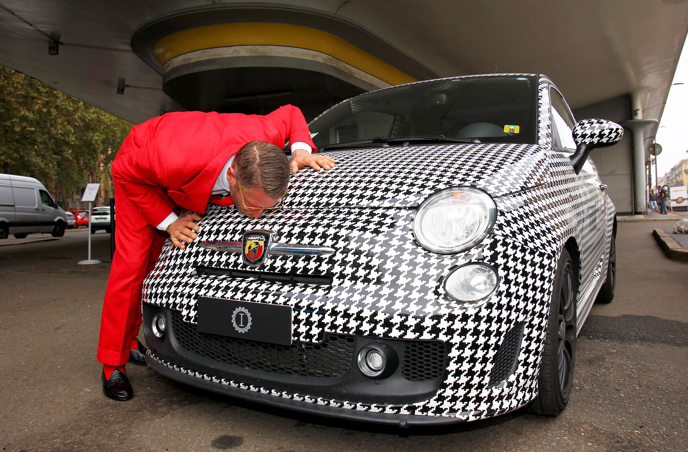 The crazy suits and outrageous cars at lapo elkann s - Garage italia lapo ...