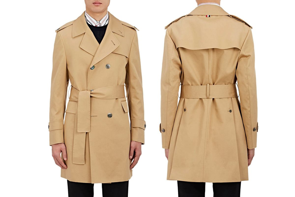 this is the best trench coat for men bloomberg