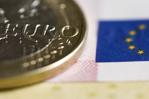 Stocks, Euro Gain as ECB Meets