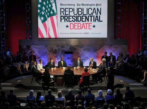 Republican Candidates to Debate in Epicenter of Economic Tur