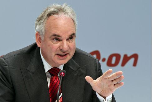 EON AG Chief Executive Officer Johannes Teyssen