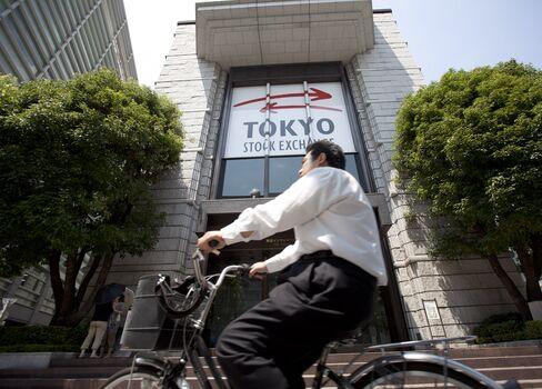 Best Topix Gain Since '87 Pays S&P 500 Return After Yen Decline