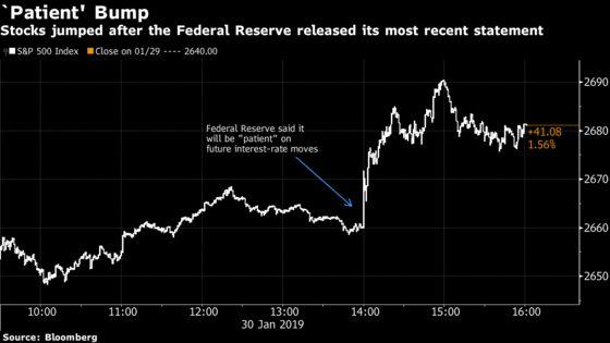 U.S. Stocks Soar, Dollar Sinks After Fed Decision: Markets Wrap