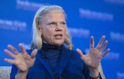 IBM Chief Executive Officer Ginni Rometty