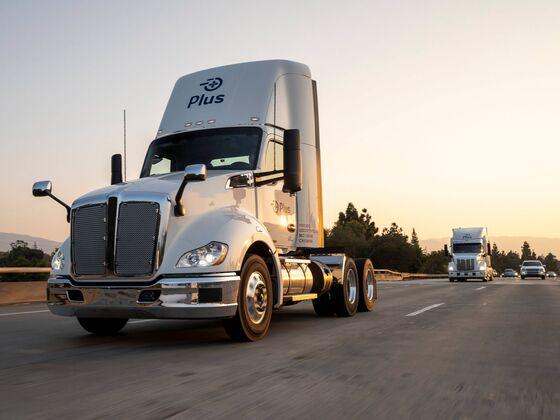 Driverless Truck Startup Plus to List in $3.3 Billion Deal