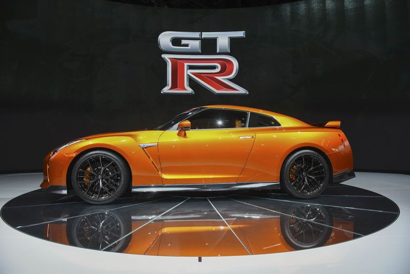 The Nissan Motor Co. 2017 GT R Sports Vehicle Is Displayed During The 2016