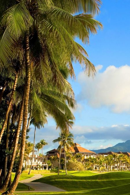 St. Regis Bahia Beach's golf course near San Juan, Puerto Rico.