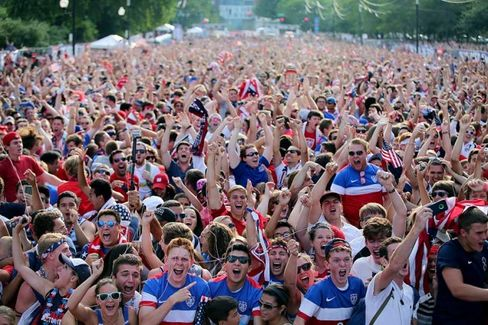 On TV, at Least, World Cup Soccer Is America's Second-Most Popular Sport