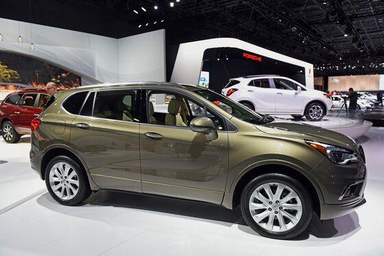 GM Seeks Tariff Exemption to Keep China-Made SUV on U.S. Market